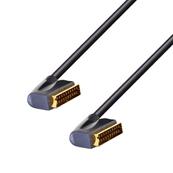 Profigold - Cavo video scart M > scart M 5mt [PGV795]