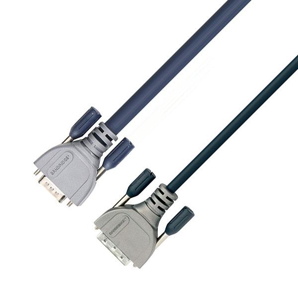 Bandridge - Cavo VGA 15 poli HD M con ferrite > DVI-A M 2mt [CL14402X]