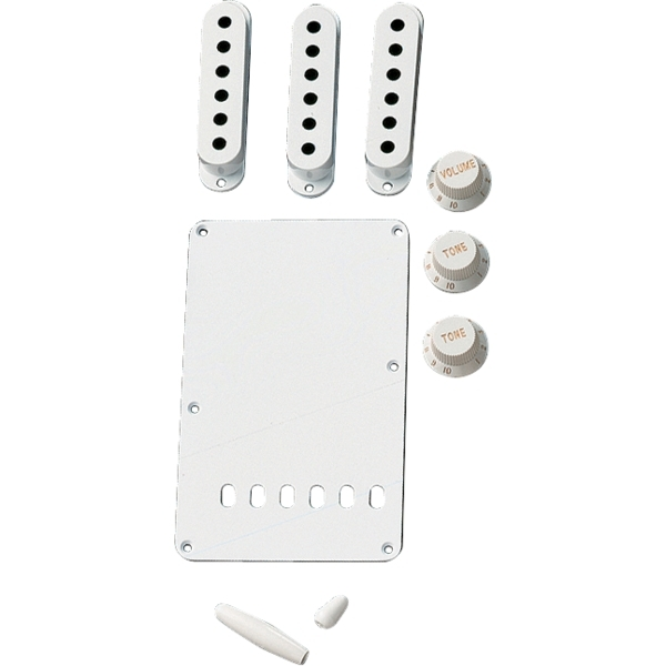 Fender - Kit Accessori Vintage-Style Stratocaster, bianco