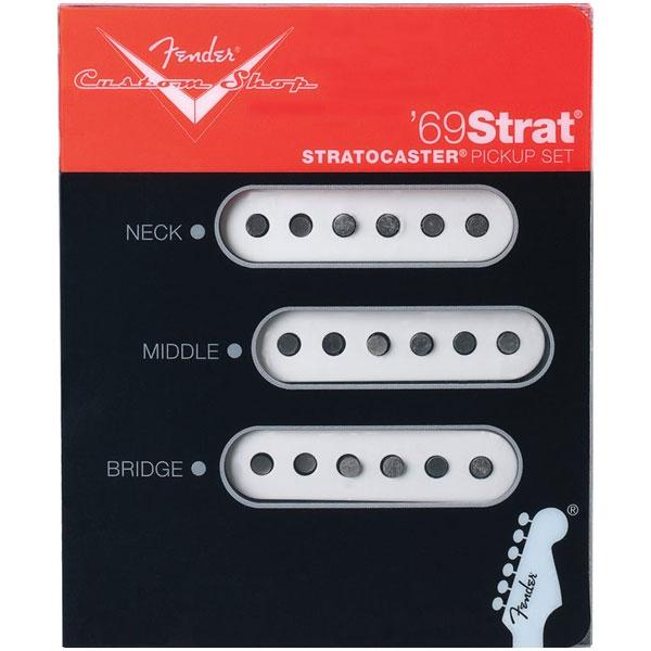 Fender - Custom Shop - [0992114000] Custom Shop '69 Strat Pickups (Set of 3)
