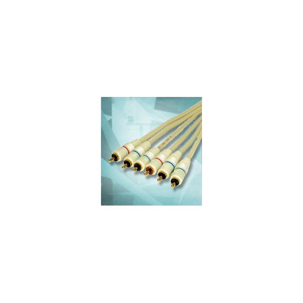 Alpha Elettronica - 84-075/3h cavo silv 3rca