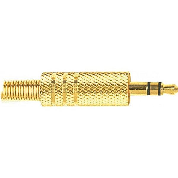 Proel - [S150] Jack Stereo 3,5 mm - dorato