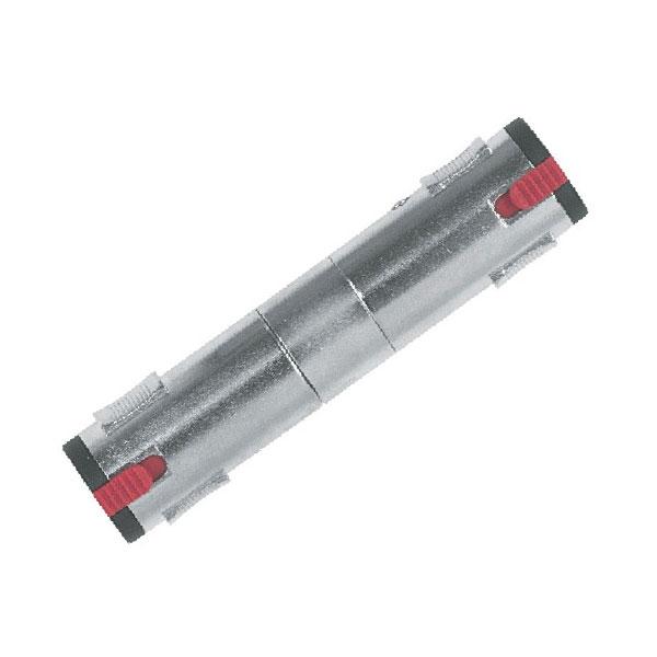Proel - Adattatore jack ø6,3mm stereo F con sic. > jack ø6,3mm stereo F con sic. [AT635]