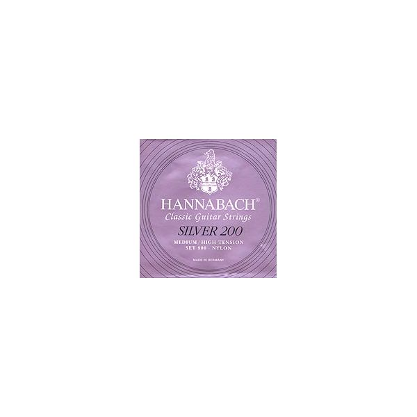 Hannabach - 900 mht silver 200