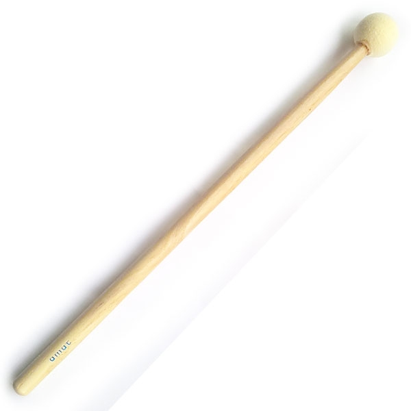 Amat - [76/M] Battente testa sferica in feltro per tamburi imperiali