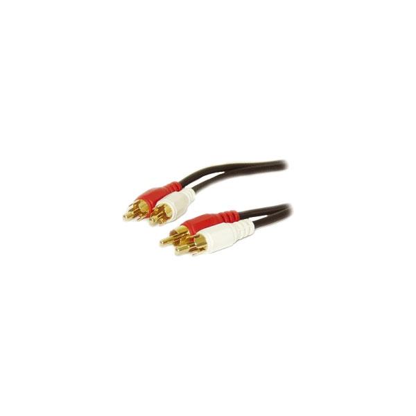 Alpha Elettronica - Cavo 2x RCA maschio > 2x RCA maschio 1,5mt [17-050]