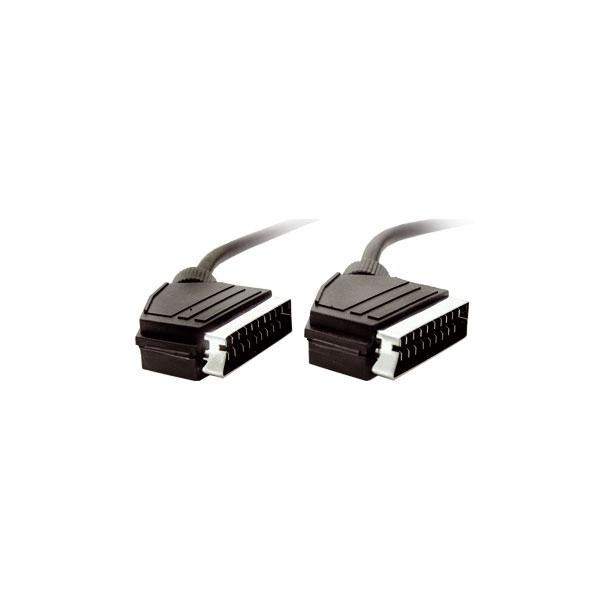 Alpha Elettronica - Cavo video scart M > scart M 1,5mt [92-004A] non confezionato