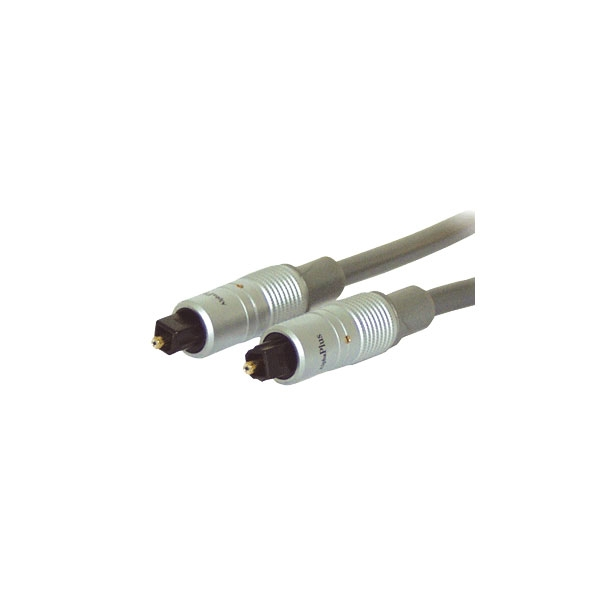 Alpha Elettronica - Cavo professionale digitale fibra ottica Toslink M > Toslink M 1,5mt [91-030P]