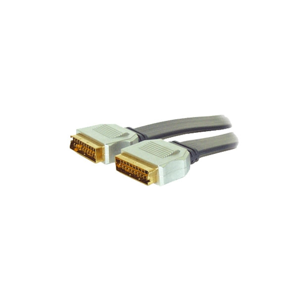 Alpha Elettronica - Cavo professionale video scart M > scart M 1,5mt [92-008P]