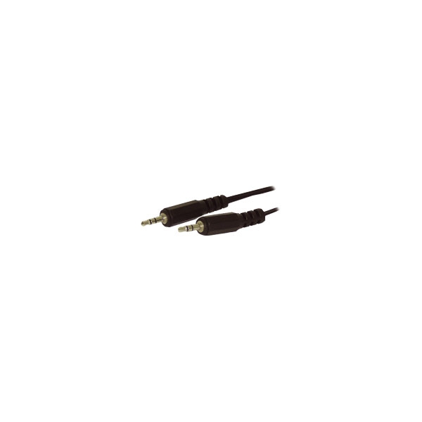 Alpha Elettronica - Cavo jack ø3,5mm stereo > jack ø3,5mm stereo 1,5mt [11-3-009]
