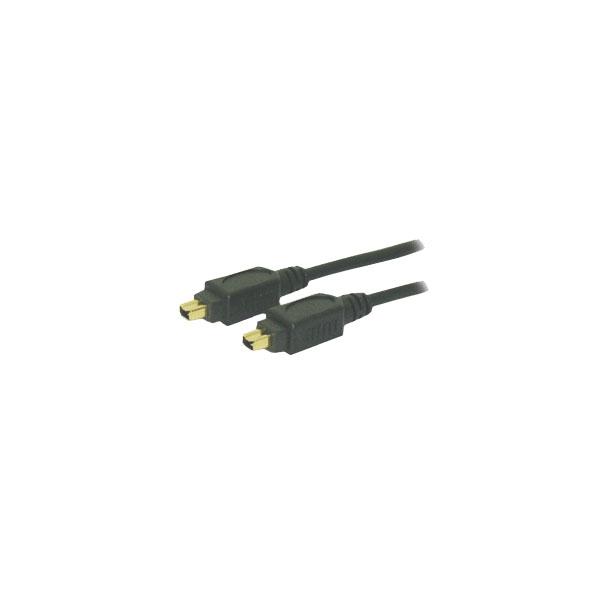 Alpha Elettronica - Cavo Firewire IEEE 1394 4 poli M > IEEE 1394 4 poli M 1,8mt [95-634]
