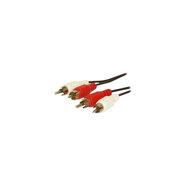 Alpha Elettronica - Cavo 2x RCA maschio > 2x RCA maschio 1,5mt [17-009B]