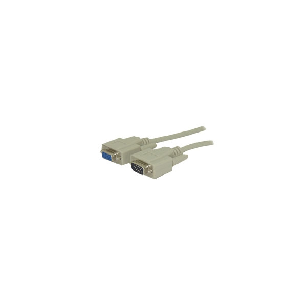 Alpha Elettronica - Cavo VGA 15 poli M > 15 poli F 1,8mt [95-530]