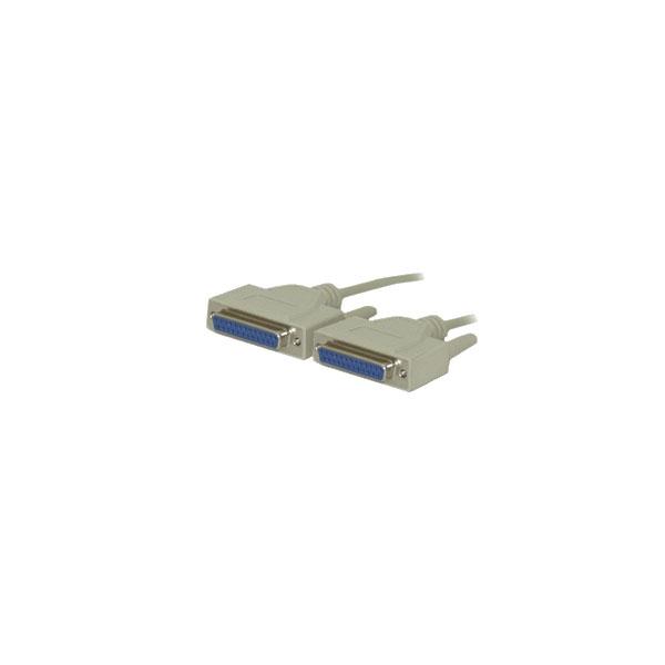 Alpha Elettronica - Cavo null modem 25 poli F > 25 poli F 2mt [95-060]