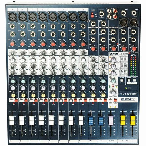 Soundcraft - Efx - [EFX8] Mixer 12 canali con effetti