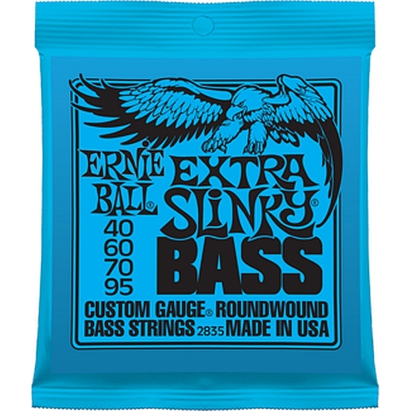 Ernie Ball - 2835 Extra Slinky Bass Roundwound 40-95 per basso 4 corde