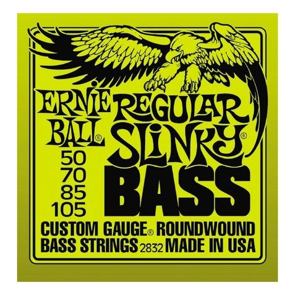 Ernie Ball - [2832] Regular Slinky - Muta x basso elettrico (050-070-085-105)