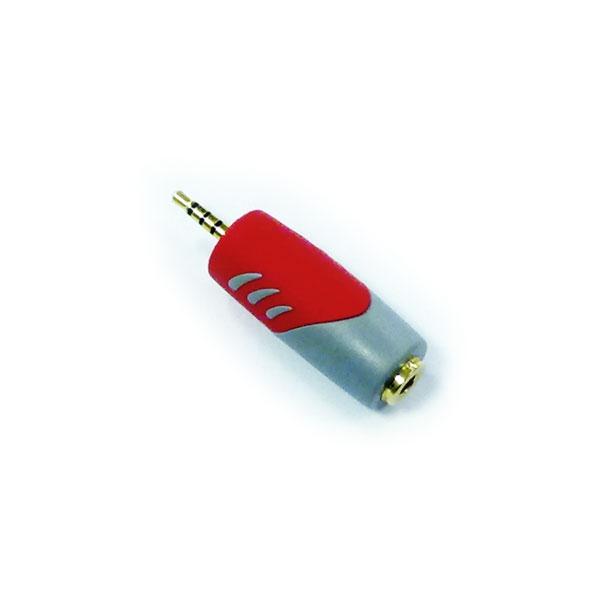 MG Itex - Adattatore audio stereo+video jack 2,5mm M > jack 3,5mm F [HQ-AD4546]
