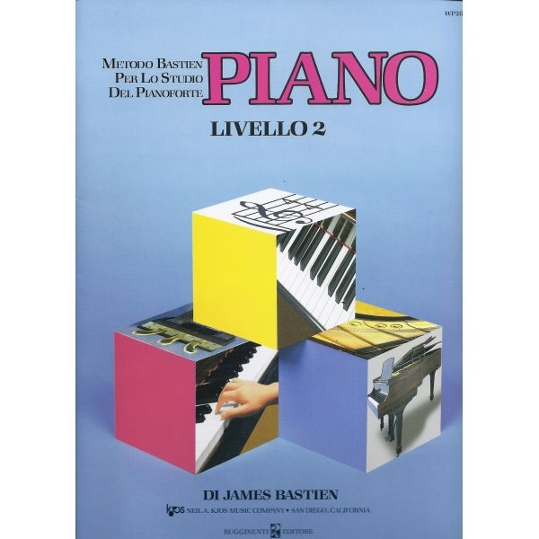 Rugginenti Editore - James Bastien - Piano Livello 2 (9788876652004)