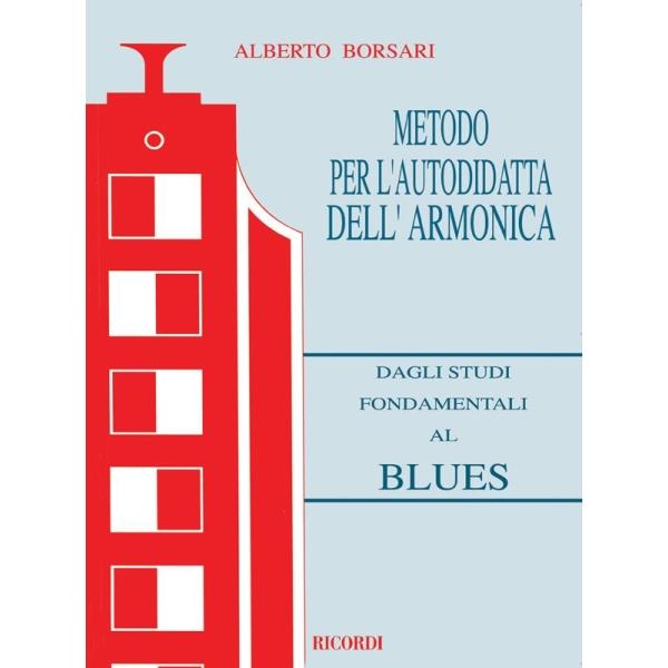 Ricordi - [MLR232] Borsari - Metodo per l'Autodidatta dell'Armonica (9790215102323)
