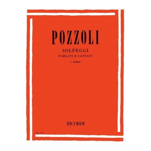 Ricordi - [ER1151] Pozzoli - Solfeggi Parlati e Cantati, 1° corso (9790041811512)