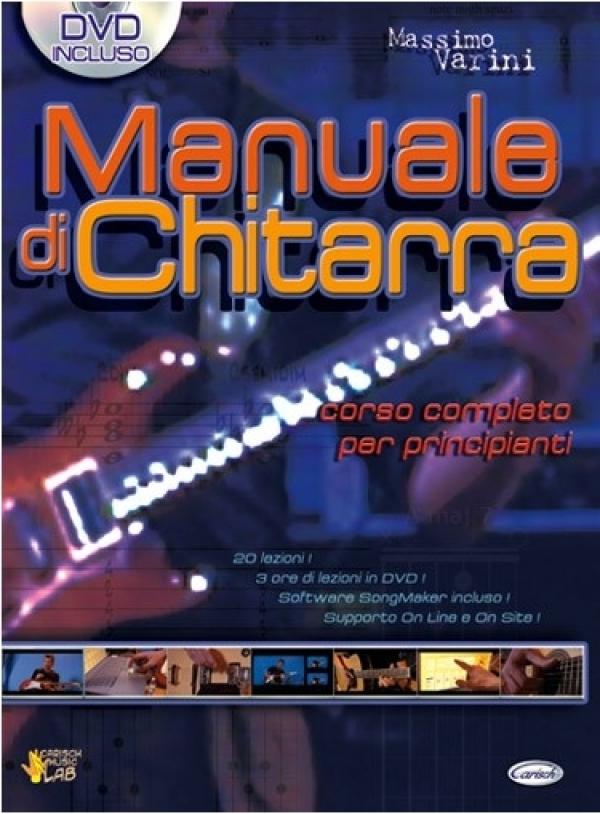 Carish - Varini Massimo - Manuale di Chitarra, con DVD (9788850712373)
