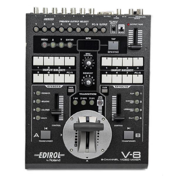 Edirol - V-8 8-CHANNEL VIDEO MIXER