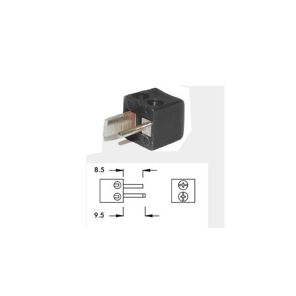 Alpha Elettronica - Spina punto e linea a 90° DIN 41529 [1-3N]