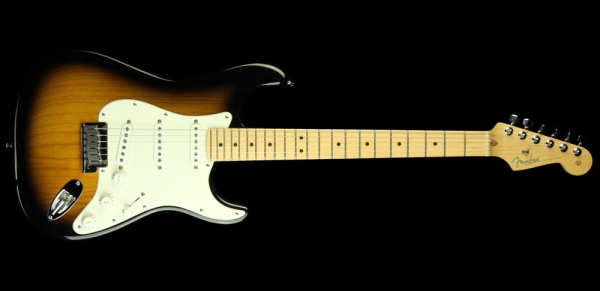Fender - [0102004803] American Series 50th Anniversary Strat, 2-color Sunburst Maple