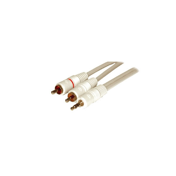 Alpha Elettronica - Cavo jack ø3,5mm stereo > 2 RCA 3mt [11-3-002/3H]