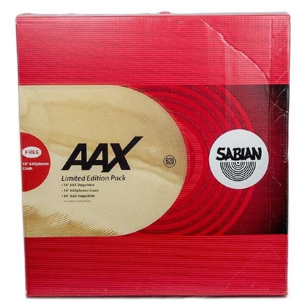 Sabian - 25005XXP SET DI PIATTI AAX PROMOTIONAL S