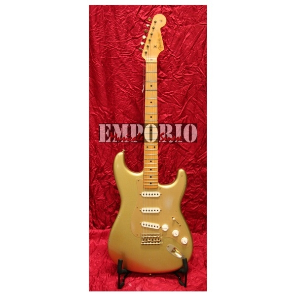 Fender - Custom Shop Limited Edition - [9275000019] Stratocaster '56 Relic 50th Anniversary Aztec Gold
