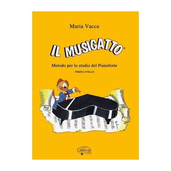 Carish - Vacca, Maria - Il Musigatto, terzo livello (9788882913199)