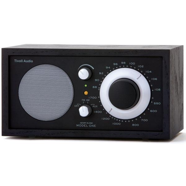 Tivoli Audio - Radio da tavolo - [M1BK/BK] Model One Black Ash-Black Silver