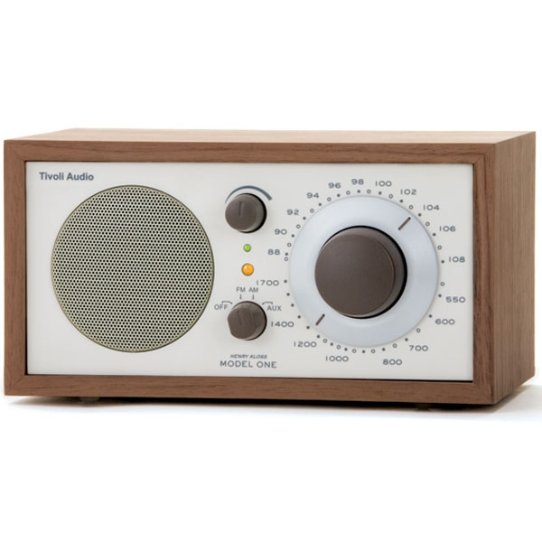 Tivoli Audio - Radio da tavolo - [M1CLA] Model One Walnut-Beige