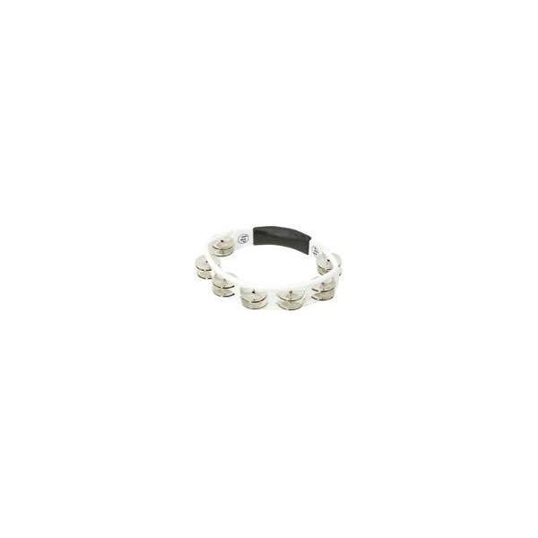 Lp Latin Percussion - Lp151 tamburello acciaio bianco