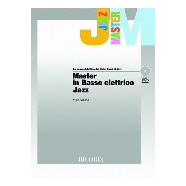 Ricordi - [MLR700] Mino Fabiano - Master in Basso Elettrico Jazz (9790215107007)