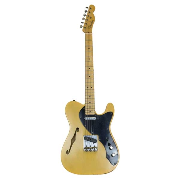 Fender - [9270000210A951] Tele Nocaster Relic Thin Line Blonde Masterbuilt C.W.Flaming