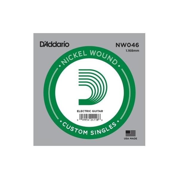 D'Addario - XL Nickel Round Wound - NW046 Corda Singola .046
