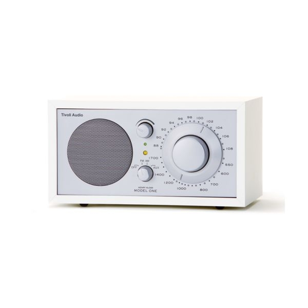 Tivoli Audio - M1SLV RADIO TIVOLI SILVER/WHITE