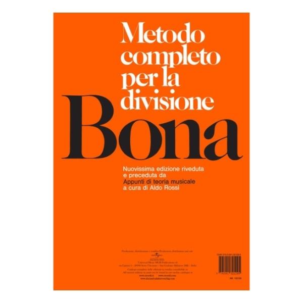 Ricordi - [NR132129] P. Bona - Metodo Completo Per La Divisione (9790041321295)