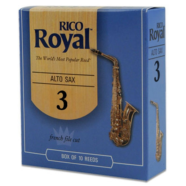 Rico - Royal - RJB1030 Sax Alto 3 - 10un