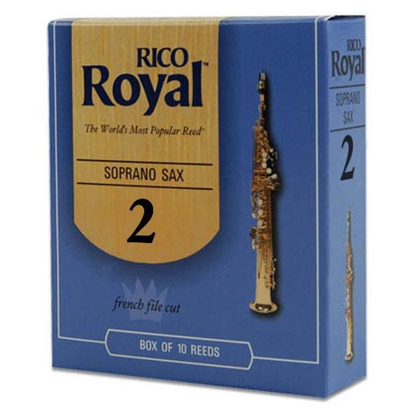 Rico - Royal - RIB1020 Sax Soprano 2 - 10un