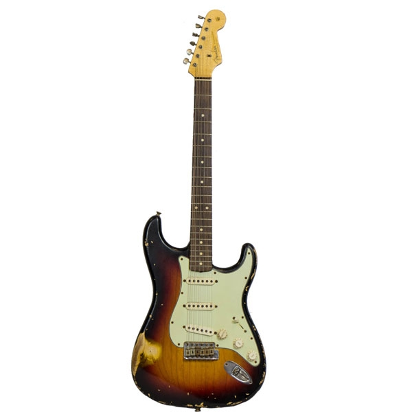 Fender - Custom Shop Limited Edition - _ Fender® custom shop limited release '62 heavy relic® stratocaster