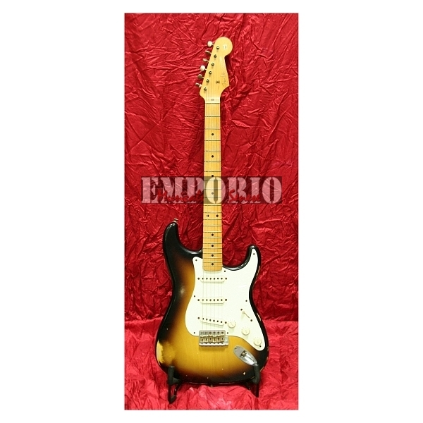 Fender - Custom Shop Time Machine - '56 Stratocaster Relic 2-Color Sunburst Maple