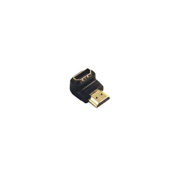 Alpha Elettronica - Adattatore HDMI femmina > HDMI maschio 90° [64-579/90]