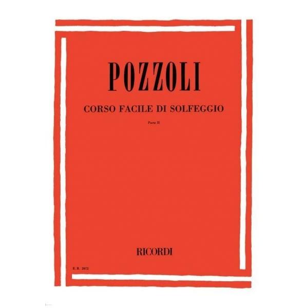 Ricordi - [ER2072] Pozzoli - Corso Facile di Solfeggio, parte 2 (9790041820729)