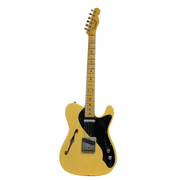 Fender - Custom Shop Special Edition - Telecaster Nocaster Thinline Relic Vintage Blonde
