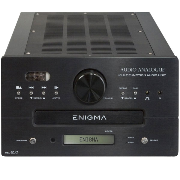 Audio Analogue - Apparecchio Multifunzionale ENIGMA REV 2.0 Nero
