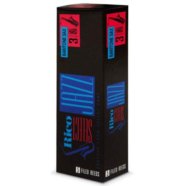 Rico - Select Jazz - RSF05BSX3H Ancia per Sax Baritono Filed 3H - 5un